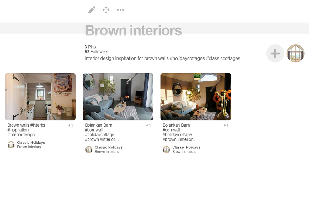 Brown interiors