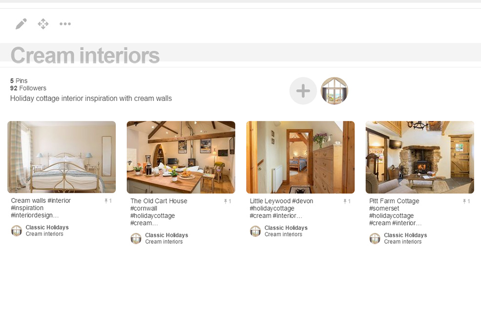 Cream interiors