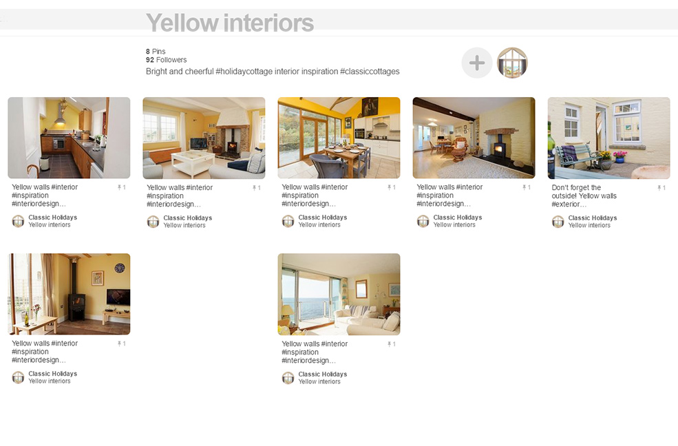 Yellow interiors