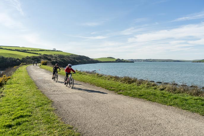 Cycle the Camel Trail, Cornwall