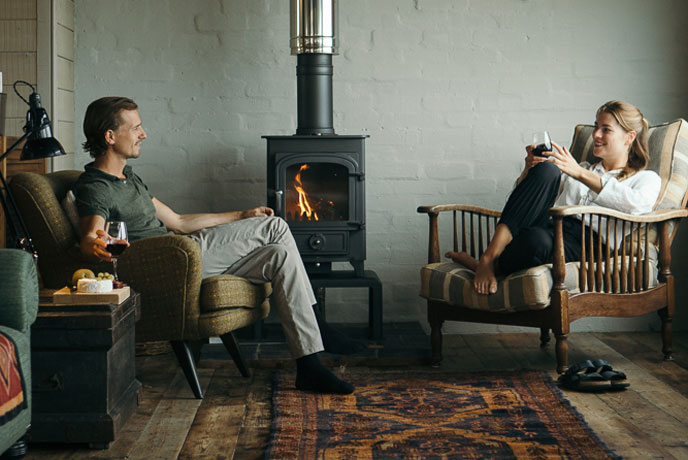 Warm afternoons by the woodburner - Station A