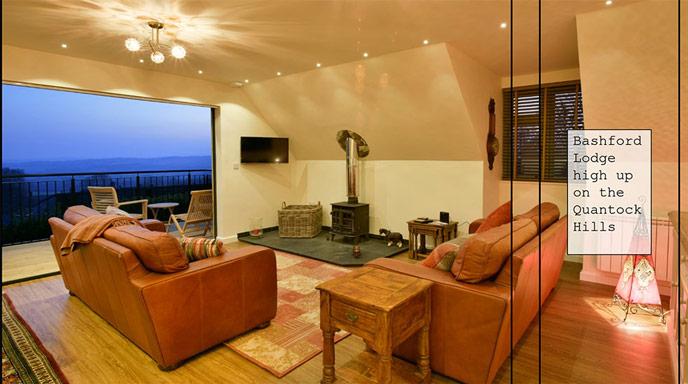 Bashford Lodge cosy interior