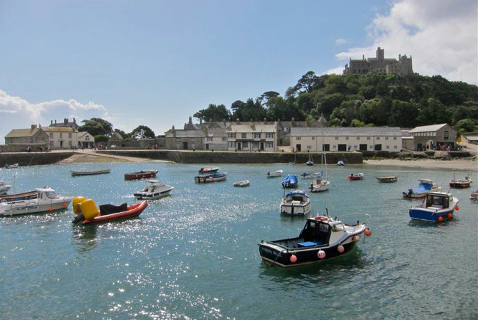 St Micheal's Mount, close to Penzance