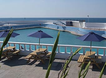 The Jubilee Pool Penzance