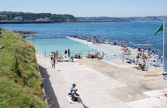 Explore Brixham sea pool