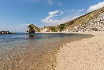 A dogs view of Durdle Door