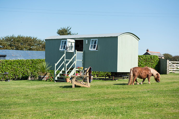 With only horses for neighbours, Hannah's Haven is a truly rural retreat.