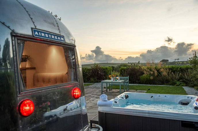 The Cornish Airstream, Looe, Cornwall