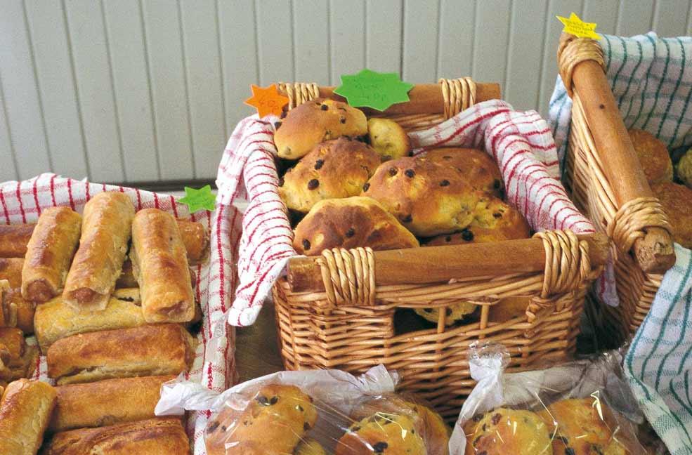 Cross Saffron buns?