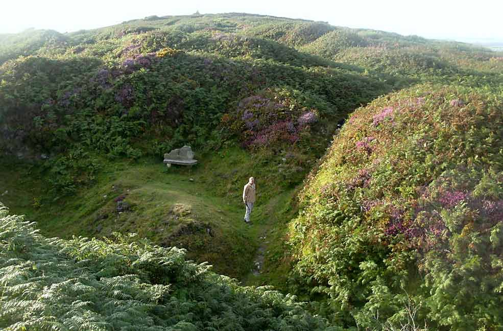 Preacher's Pit, Tregonning Hill