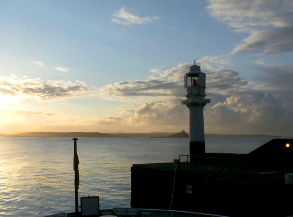 Setting off from Penzance at 6am on the Scillonian for Wild Life trip