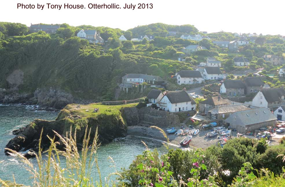 Cadgwith cottages