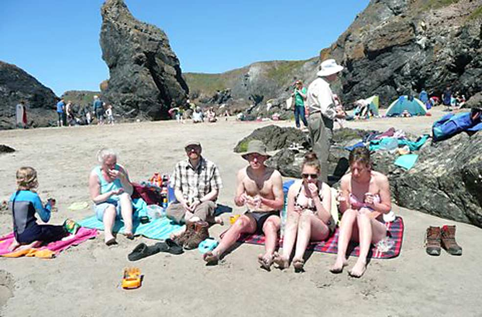 Guest experience: My 80th in Kynance Cove, Cornwall