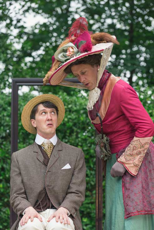 The importance of being Earnest (credit Kirstin Prisk)