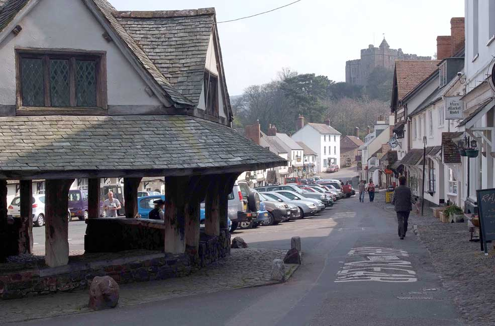 Dunster town