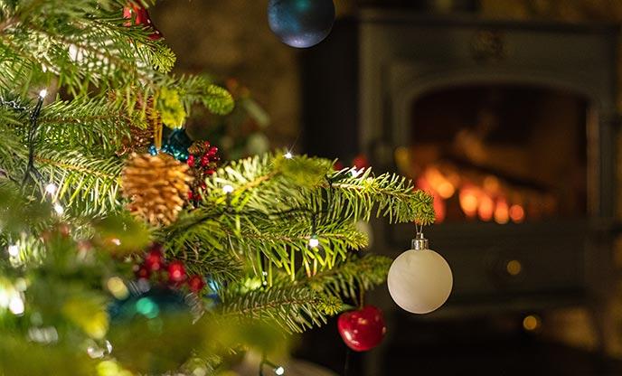 Christmas holiday cottage