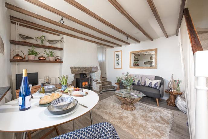 Thimble Cottage, Mousehole, Cornwall