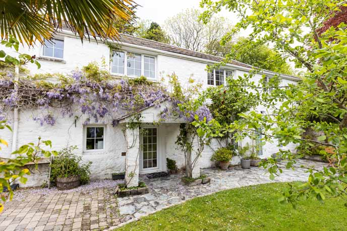 Tregenver Cottage, Falmouth, Cornwall