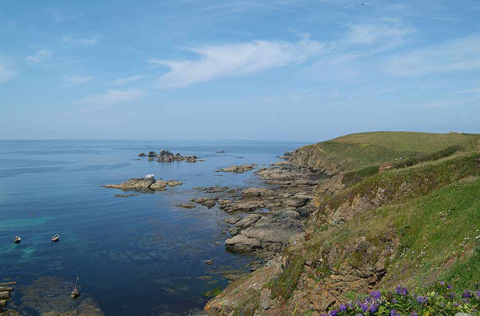 Polpeor cafe benefits from panoramic views off Lizard Point.
