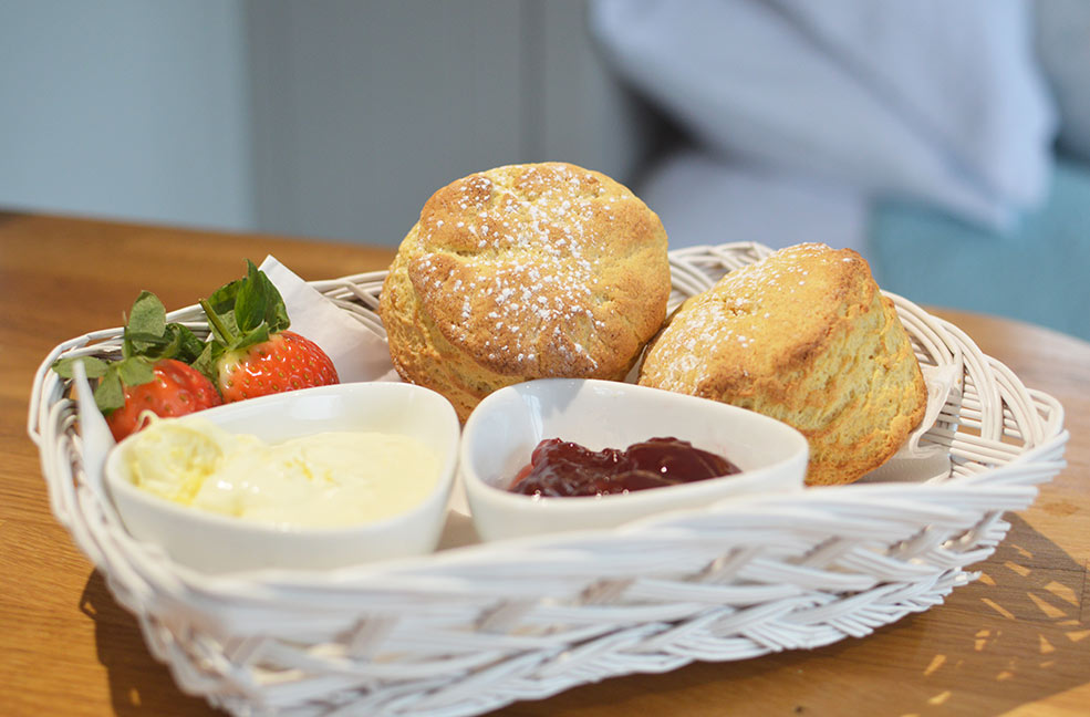 Don't forget it's jam then cream in Cornwall!