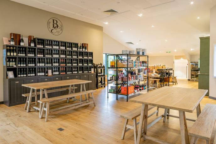 Bolney Wine Estate shop, Sussex