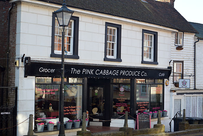 Breakfast at The Pink Cabbage