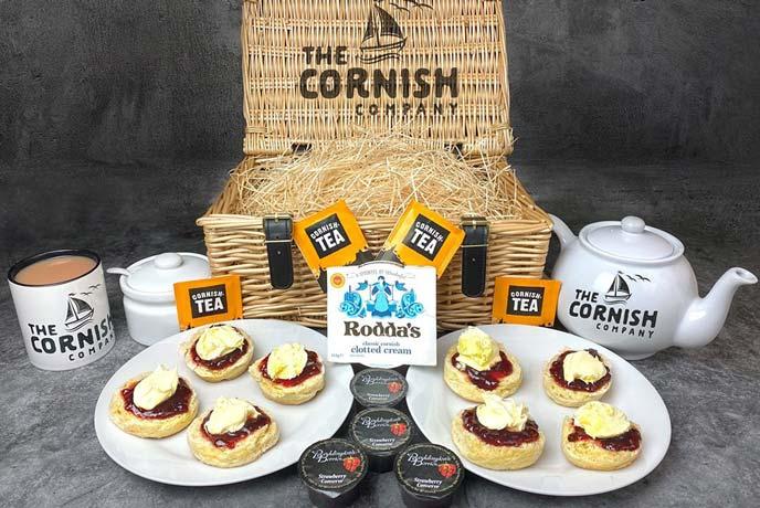 The Cornish Company, Cream Tea Hamper