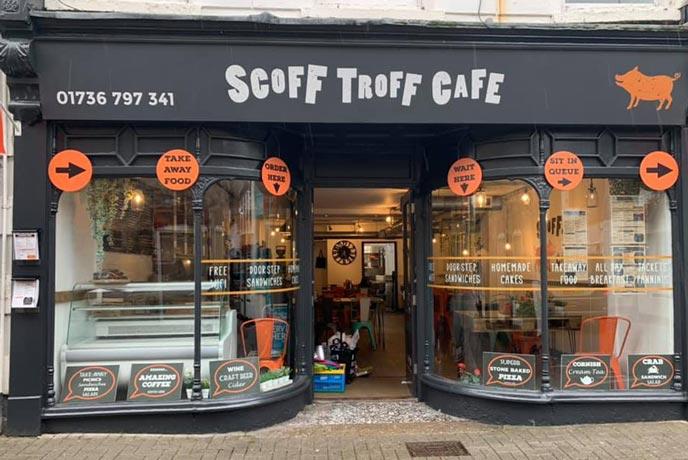Scoff Troff Cafe, St Ives