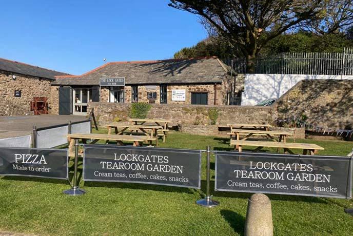 The Lock Gates Tea Room, Bude