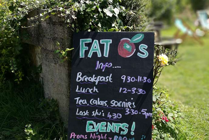 Fat Apples cafe, Porthallow