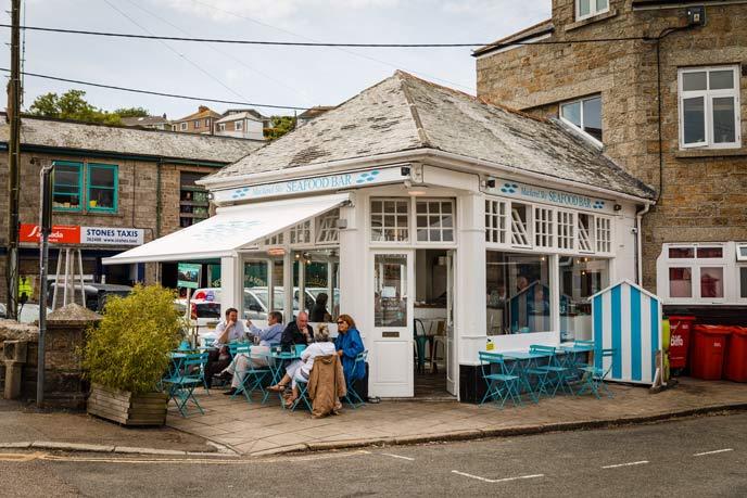 Mackerel Sky Seafood, Newlyn, Cornwall