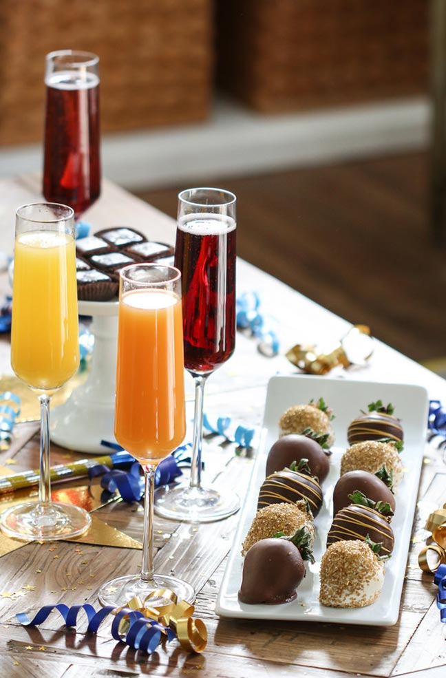 Cocktails and chocolates