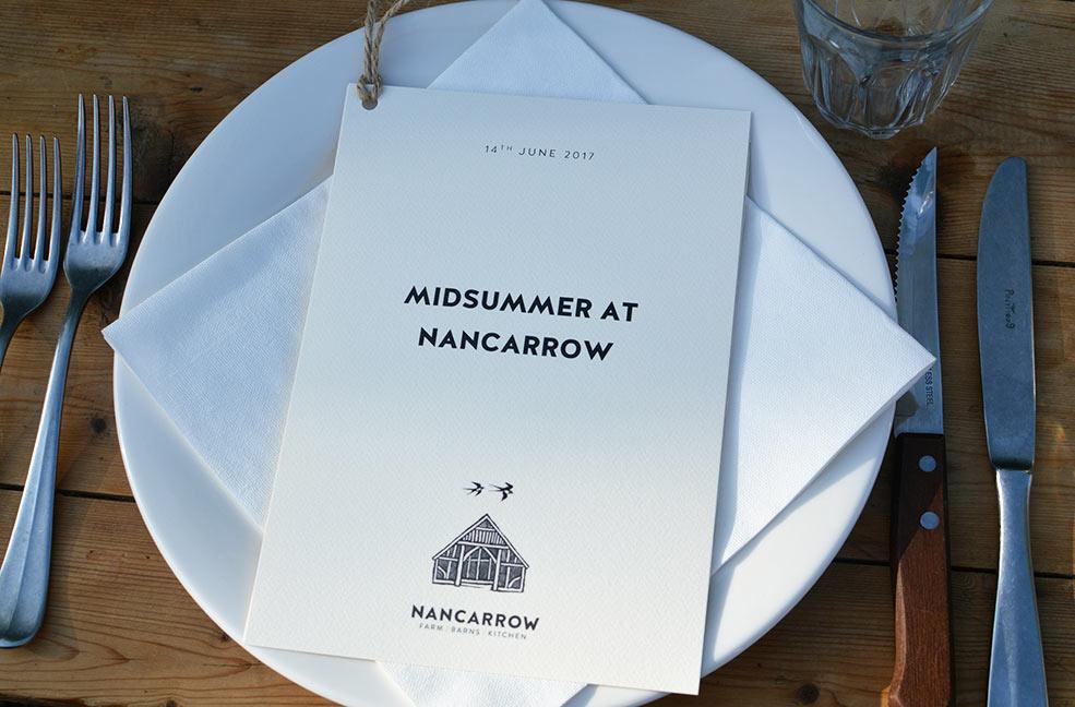 Nancarrow Farm Midsummer Feast