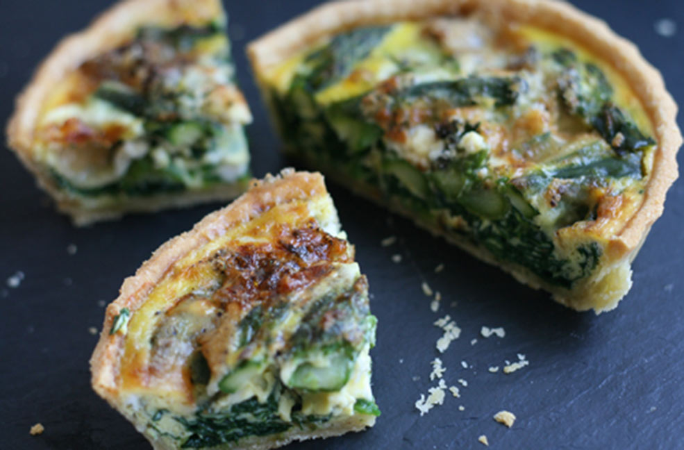 Philleigh Way spinach and blue cheese tarts for New Year