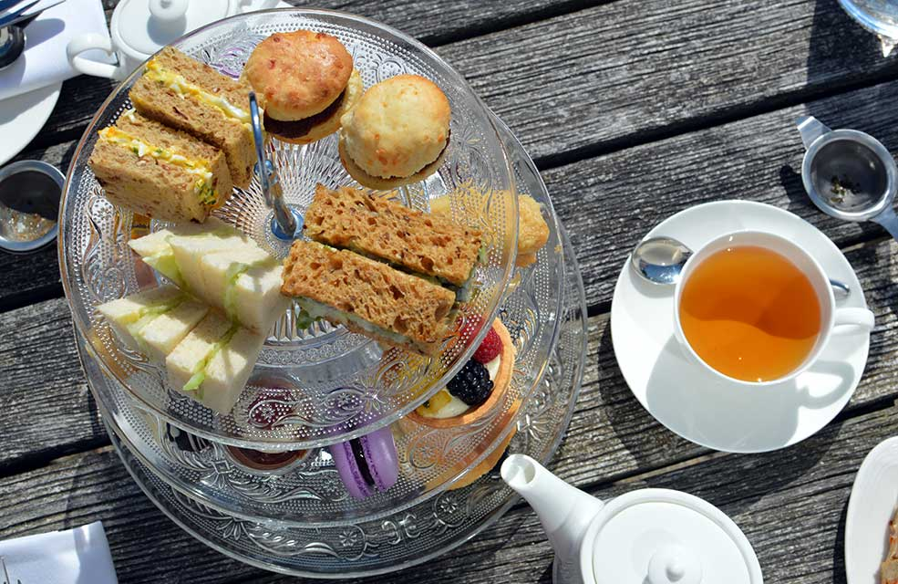 Afternoon tea is a true treat to enjoy while on holiday in Brixham.