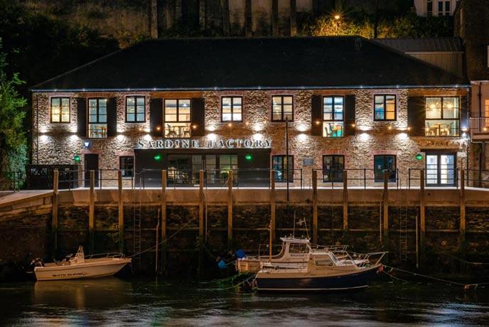 The Sardine Factory, Looe
