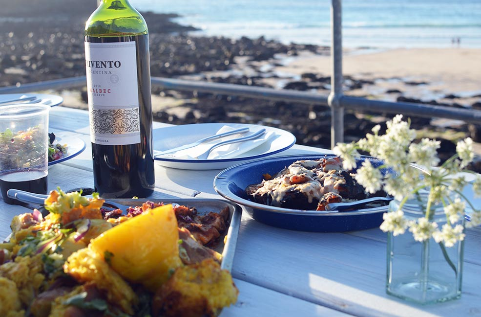 Good food, good people and a glass of wine make for an excellent evening out in St Ives.