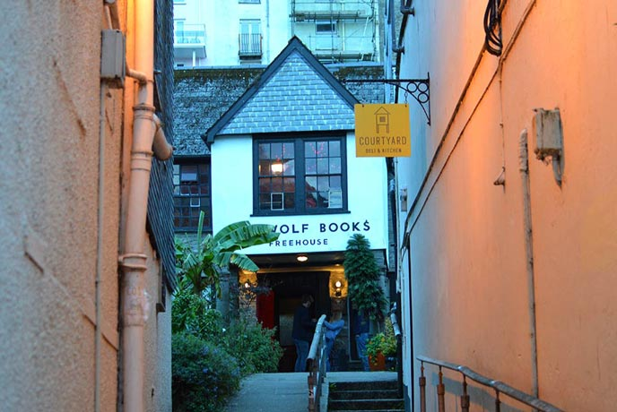 Beerwolf pub in Falmouth