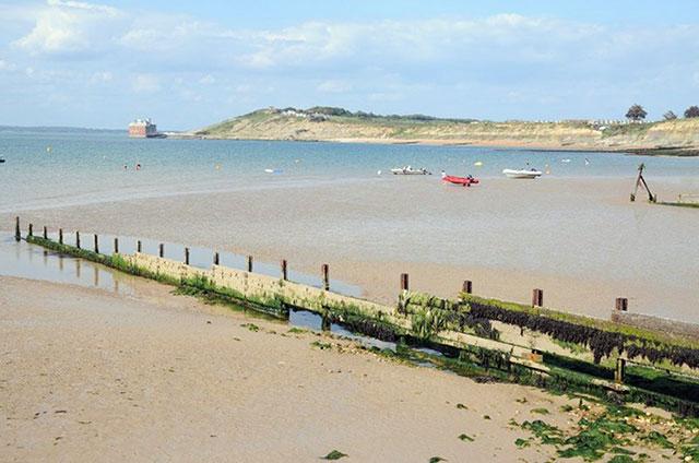 Colwell Bay beach