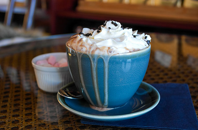Hot chocolate at Chocolate Apothecary