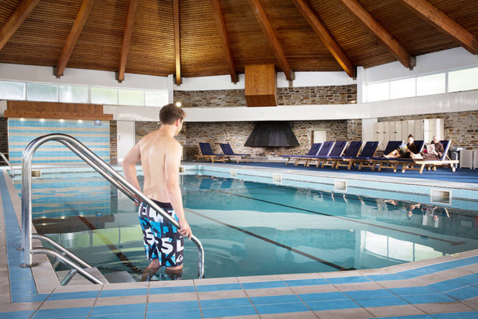 Enjoy the Budock Vean hotel pool when you stay at August Rock