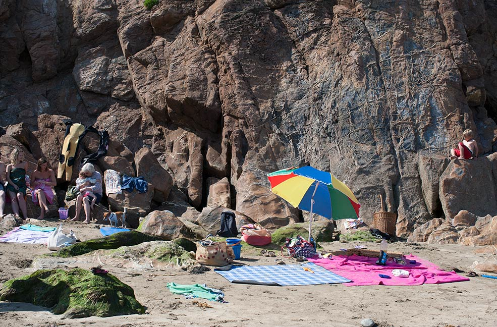 The beach is a great place to visit for your summer holiday, just don't forget UV protection.