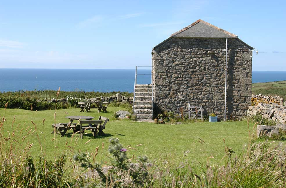 This gorgeous bolthole sits on the cliffs of Far West Cornwall. Perfect for just staying in and enjoying the views.