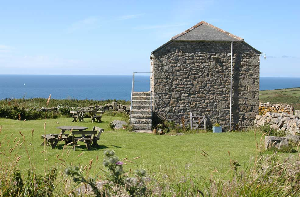 A romantic, secluded location for your next walking holiday in Cornwall.