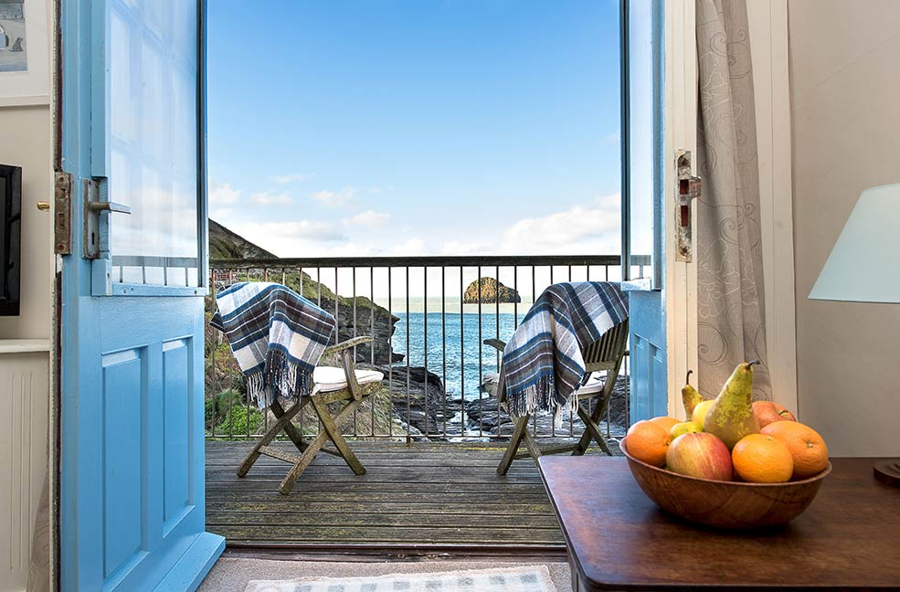 Wake up to the ocean at Praxis and then wander beside it on the South West Coast Path.