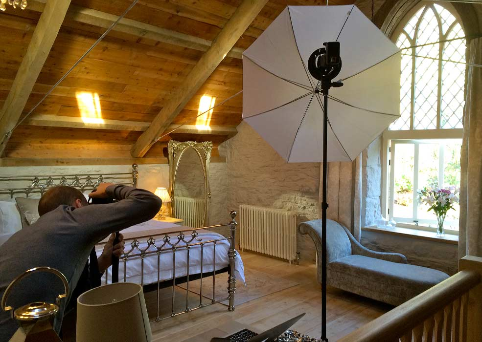 Classic Cottages property photoshoot
