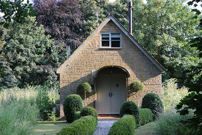 The perfect retreat for two in Somerset.