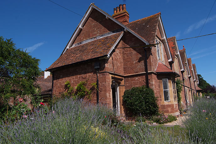 Right on the coast path, Coastguard Cottages is not far from the classic town of Minehead.