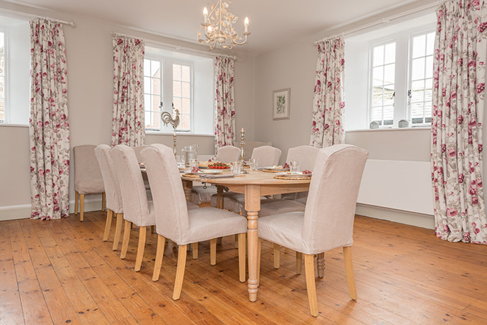 Welcome to the 150 year old Barton Manor Farmhouse with enough space for all the family.