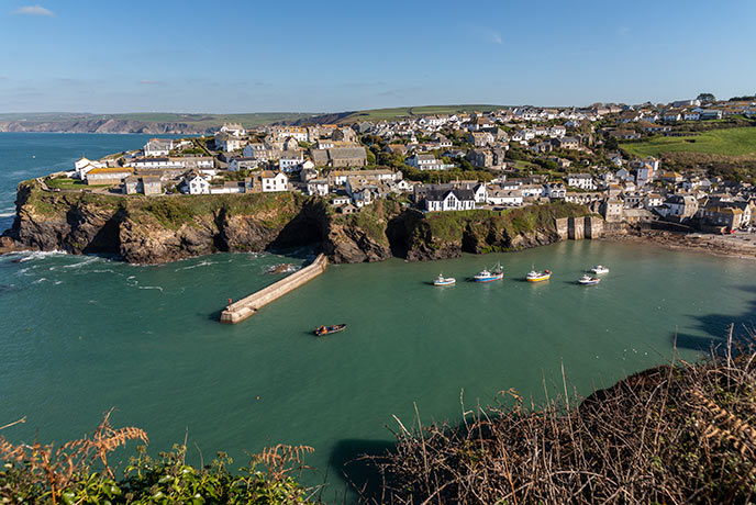 Port Isaac is the amazing backdrop to the new Fishermans Friends film.